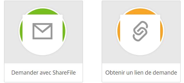 KissFile - Citrix ShareFile - Request files