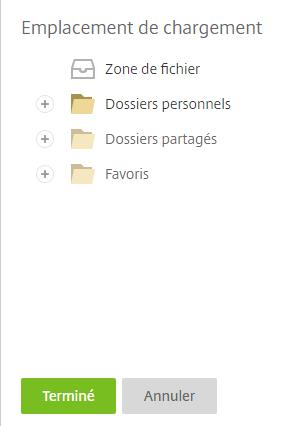 KissFile - Citrix ShareFile - Request files storage location