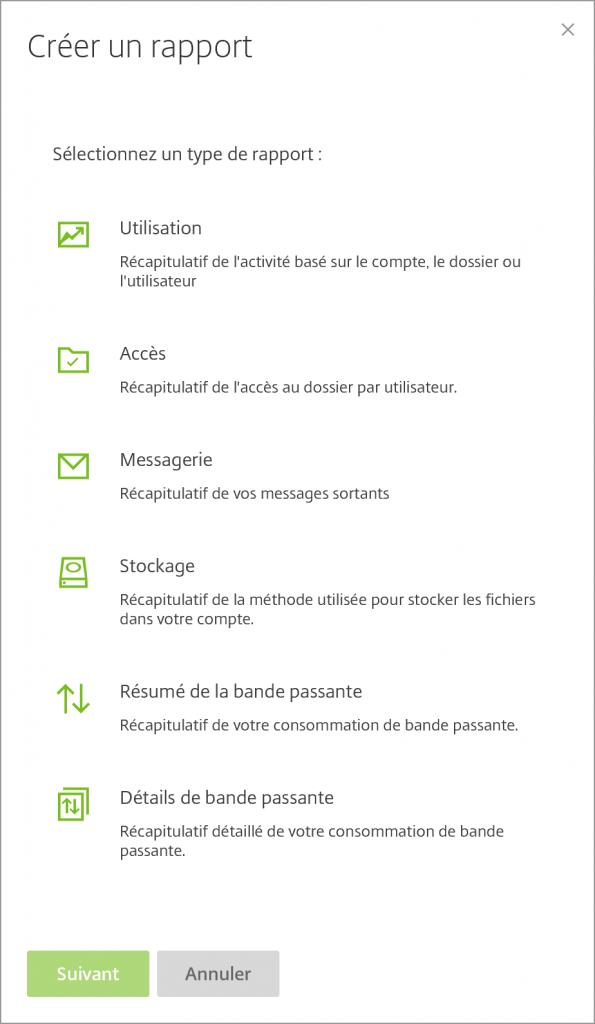 KissFile - Citrix ShareFile - Rapport
